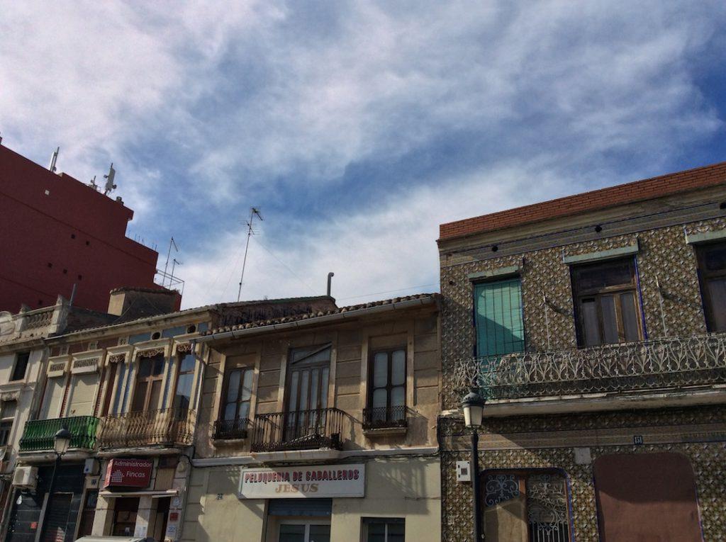 El barrio del Cabanyal no ha desaparecido gracias a las luchas vecinales frente a la especulación urbanística./ Laura Corcuera
