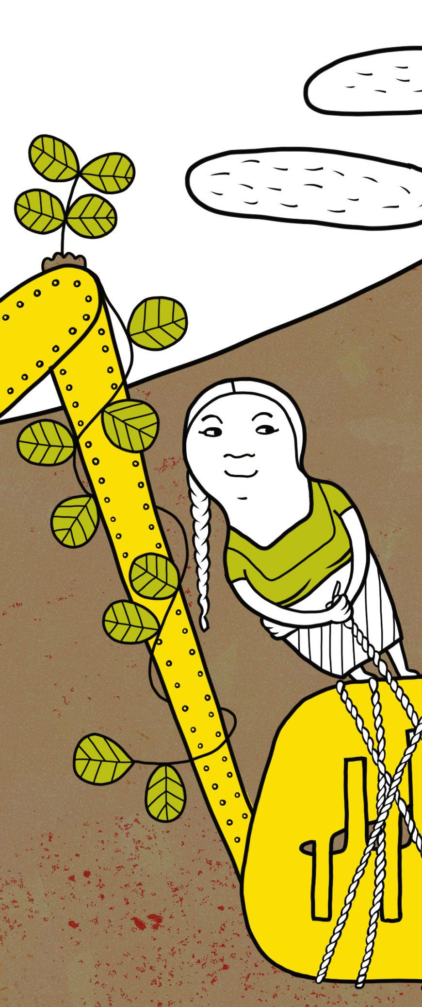 Ilustración de Emma Gascó para Calala.