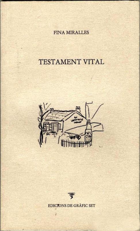 Libro 'Testamento vital'
