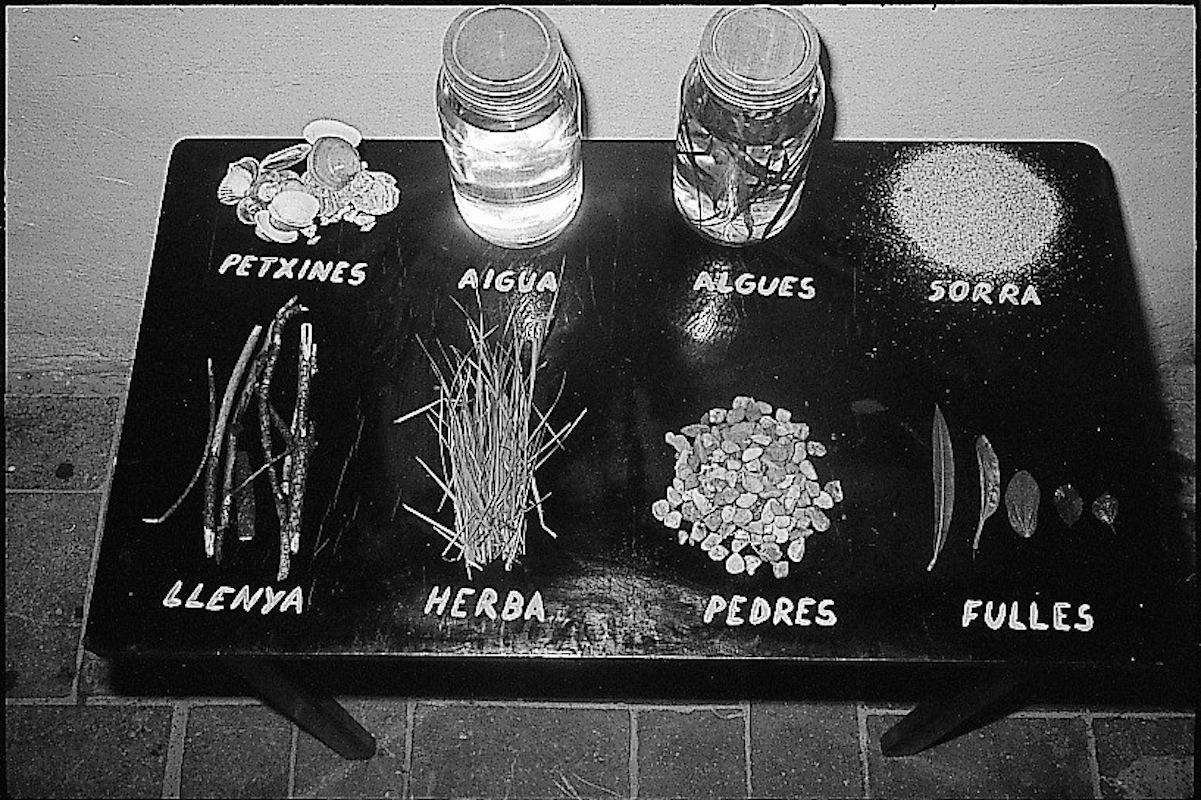 Natura morta comunicacions a L'Hospitalet (1972)