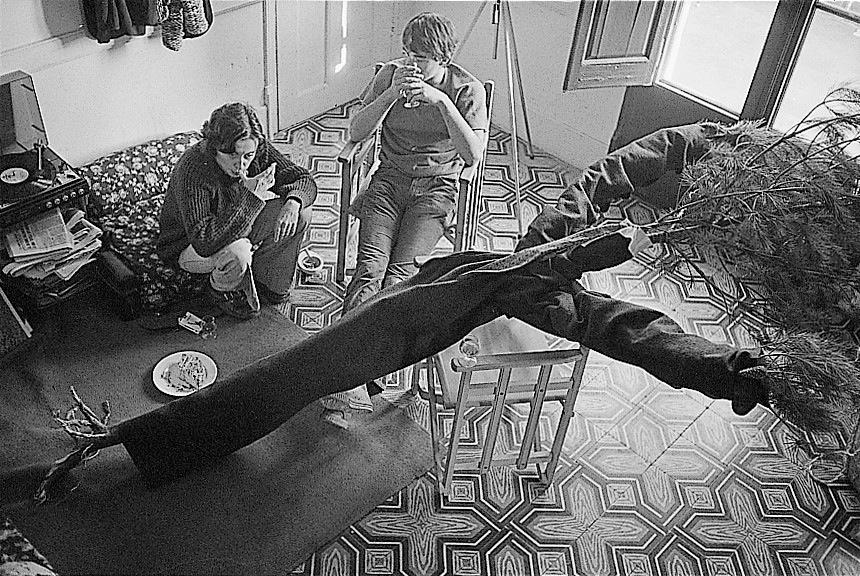 Parlant amb larbre. Lafloresta (1975)