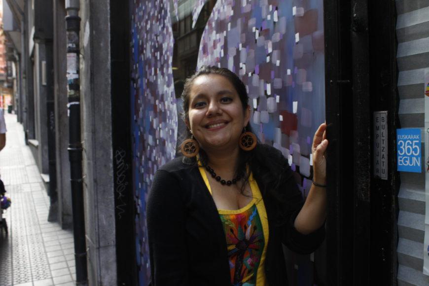 Sara García, en Bilbao. / Foto: M.A.F.