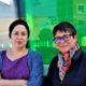 Marusia López (izda) y Lydia Alpízar, estuvieron en Bilbao para presentar el informe. / Foto: Marina León Manovel.