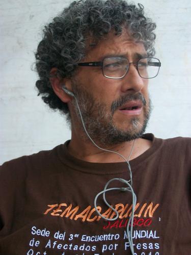 Gustavo Castro. / Foto de su perfil de Twitter.