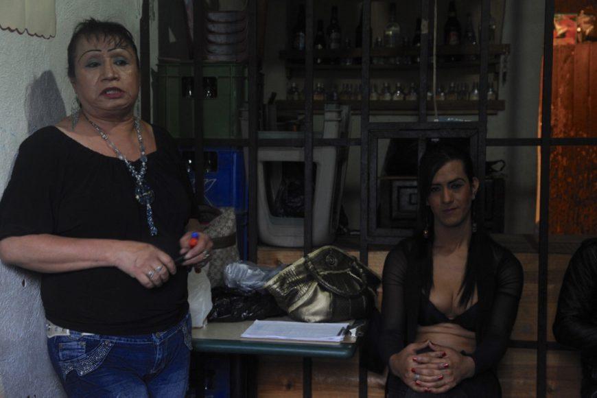 Mujeres trans del colectivo Trébol Rojo de Guatemala. / Foto: Cristina Chiquín