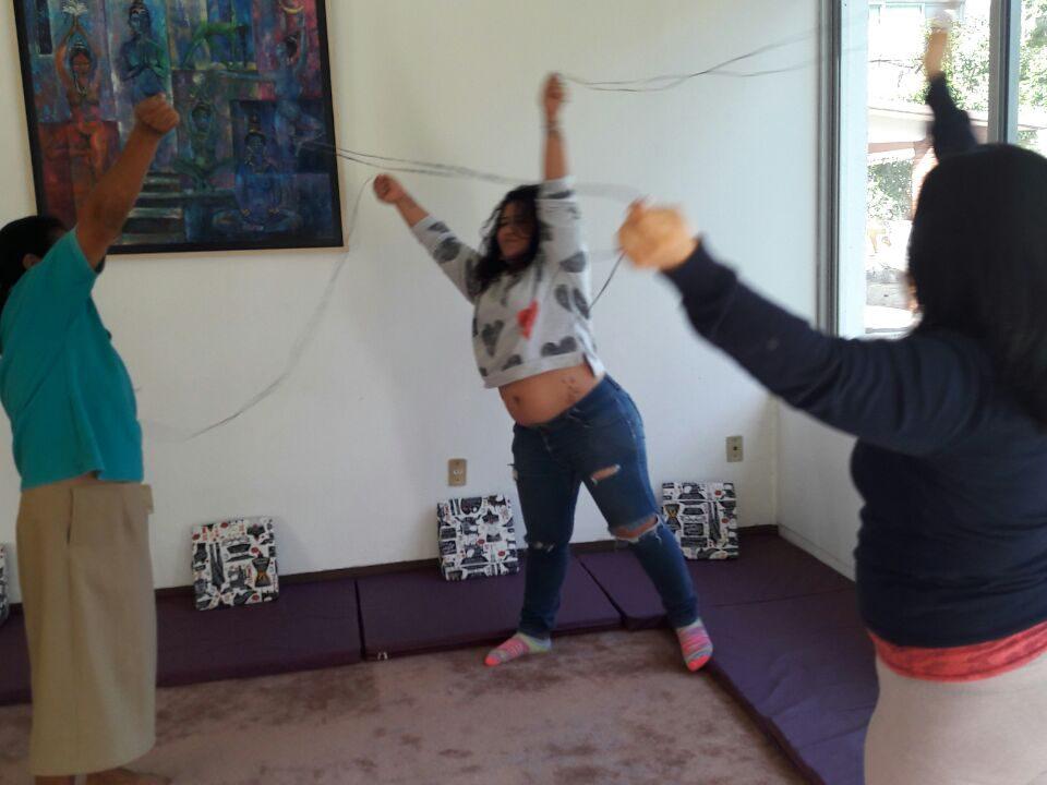 Una actividad en La Serena. / Foto: IM-Defensoras
