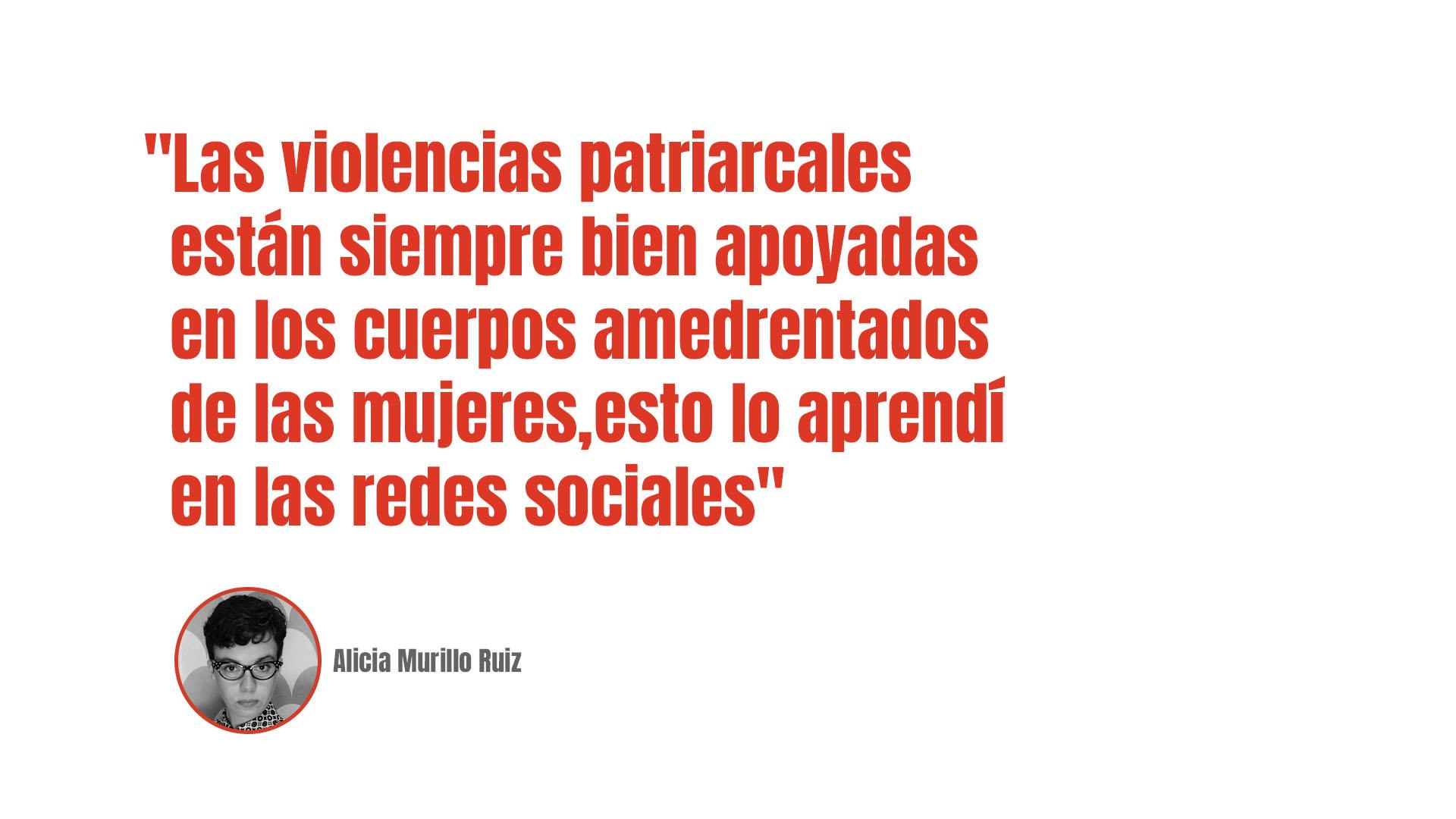 Alicia Murillo Ruiz: Mujeres, al REDil